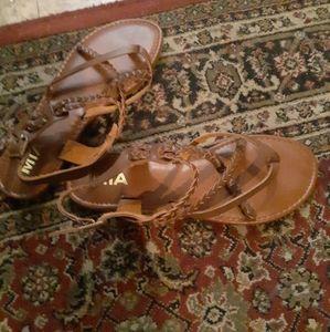 Mia womans tan sandals 7.5